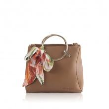 Túi xách thời trang Verchini màu nâu bò 004898