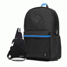 Bộ balo phối viền và túi đeo ipad Praza - BL143DC092