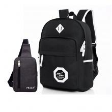 Combo balo campus và túi đeo Ipad Praza - BL164DC095