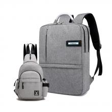 Combo balo unisex Hàn Quốc cao cấp & túi đeo chéo tiện dụng thời trang Praza - BL166DC111