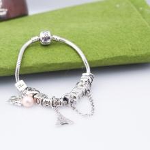 Opal - Vòng tay charm hợp kim xi bạc tặng kèm dây chuyền bạc trị giá 250.000đ _ T12