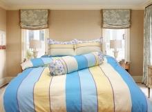 Bộ vỏ chăn ga gối 100% cotton sợi bông Julia (bộ 5 món có vỏ chăn)180x200x25-227bm18