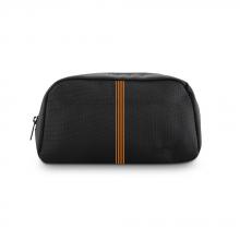 Túi phụ kiện Ronal - Đen sọc cam