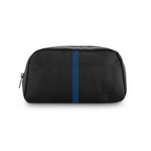 Túi phụ kiện Ronal - Đen sọc xanh biển