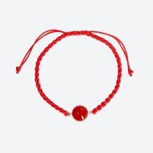 Vòng tay thắt dây đỏ đá thiên nhiên