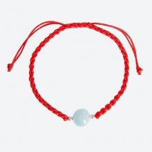 Vòng tay thắt dây đỏ đá thiên nhiên mang đến sự tài lọc