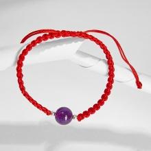 Vòng tay thắt dây đỏ đá thiên nhiên mang đến may mắn Ngọc Quý Gemstones