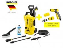 COMBO Máy phun rửa áp lực cao Karcher K2 Full control car và bộ tưới cây 4 món