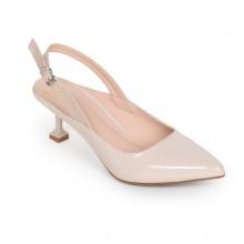 Giày cao gót thời trang phối dây Erosska EH022 ( Nude)