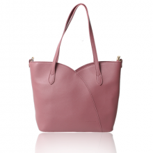 Túi xách thời trang Verchini màu hồng ruốc 011160