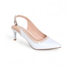 Giày cao gót thời trang nữ Erosska EH024 (Trắng )