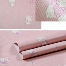 Combo 5m giấy decal cuộn Hello Kitty 1 DT106 (Kích thước :45x500cm)
