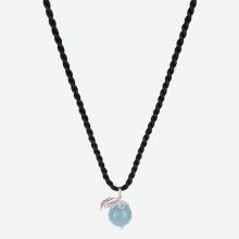 Mặt dây chuyền đá Aquamarine thiên nhiên