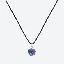 Mặt dây chuyền hoa mẫu đơn Saphire