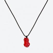 Mặt dây chuyền tỳ hưu pha lê - Ngọc Quý Gemstones