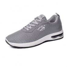 Giày nam thể thao vải lưới sneaker mầu ghi bạc
