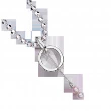Mặt dây chuyền bạc đính ngọc trai PNJSilver Spring Vibe NHNHK000001
