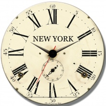 Đồng hồ gỗ tròn tictac - R025 New York