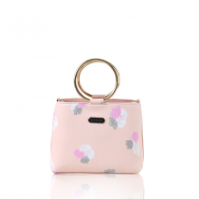 Túi xách thời trang Verchini màu hồng hoa 011211