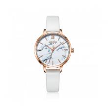 Đồng hồ nữ dây da Hàn Quốc Julius chính hãng JA-1101A ( Trắng )