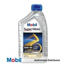 Dầu nhớt xe số Mobil Super Moto công nghệ bán tổng hợp 10W-40 4T 800ML nhập khẩu Singapore