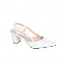Giày cao gót thời trang nữ Erosska EH021- Màu trắng