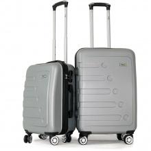 Bộ 2 vali Trip P16 size 50cm+60cm bạc
