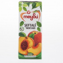 Combo 6 hộp 200 ml nước ép đào Thổ Nhĩ Kỳ MeySu Peach Fruit Drink