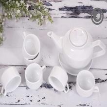 Bộ trà vuông trắng 0.6L/SSA004A