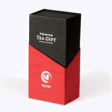 Hộp quà tết trà thiếc 2 gồm trà ô long, cổ thụ