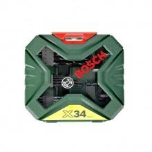 Bộ mũi khoan và vặn vít X-Line 34 pcs Bosch