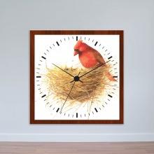 Đồng hồ treo tường hình tổ chim | Đồng hồ giá rẻ WC006