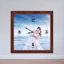 Đồng hồ treo tường hình cưới | Đồng hồ kỷ niệm WC010