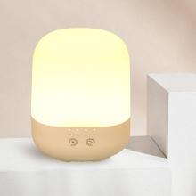 Máy xông tinh dầu, phun sương siêu âm có đèn phong cách Hàn Quốc 300ml - EM080