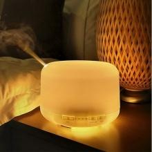 Máy xông tinh dầu, phun sương siêu âm tạo độ ẩm không khí có đèn phong cách Hàn Quốc - EVANS079