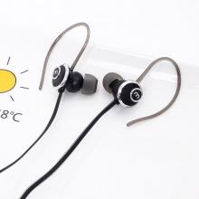Tai nghe extra bass thể thao cao cấp chữ M Hàn Quốc nhét tai có móc vành tai chắc chắn - EM047
