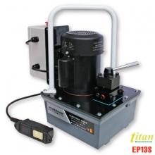EP13S bơm thủy lực dẫn động bằng điện 220V, áp suất 700bar, 3 lít. Powerram