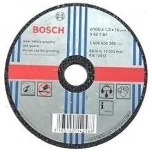 Đá cắt sắt Bosch 2608600266 100x16x1.2mm
