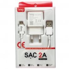 Combo cáp sạc 5V-2A micro-USB cho điện thoại Android – Bagi CE-M52N