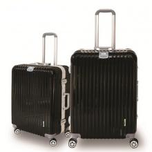 Bộ 2 vali khung nhôm Trip A03 size 52+62cm (22+26inch) đen