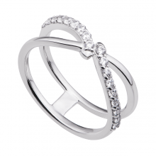 Nhẫn bạc đính đá PNJSilver Fantasia XM00K000144