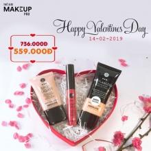 Quà tặng Valentine 2019 - Bộ mỹ phẩm trang điểm mặt cho nàng tỏa sáng