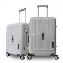 Bộ 2 vali khung nhôm Trip A09 size 50+60cm (20+24inch) xám