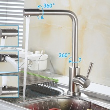 Bộ vòi rửa bát nóng lạnh inox 304 Zento SUS 5575