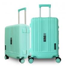 Bộ 2 vali khung nhôm Trip A09 size 50+60cm (20+24inch) xanh ngọc
