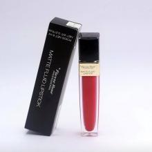 Son kem siêu lì (màu Crimson Red) - Pierre René Matte Fluid Lipstick 08