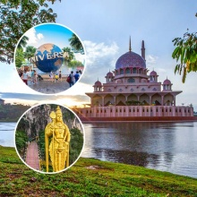 Tour 3 nước Singapore Malaysia Indonesia Vinared Tour