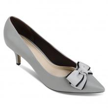 Giày bít nhọn thời trang 5050BN0093 Sablanca màu xám