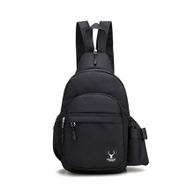 Túi đeo tích hợp balo 2 in 1 Praza - DC111 (đen)
