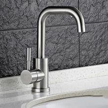 Vòi lavabo nóng lạnh inox Zento SUS3307